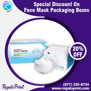 20% Discount On Face Mask Packaging Boxes – RegaloPrint