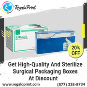 Get High-Quality & Sterilize Surgical Packaging Boxes At 20% Discount