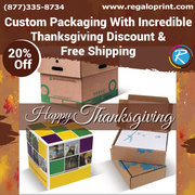 Custom Packaging With Incredible Thanksgiving Discount Of 20%