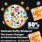 Delicate Puffy Stickers! The Game-Changer At 50% Christmas Discount